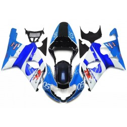 Blue, White & Black Motorcycle Fairings For 2005-2006 Suzuki GSX-R 1000 K5