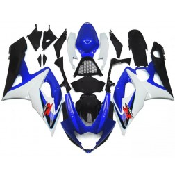 Blue, Black & White Motorcycle Fairings For 2005-2006 Suzuki GSX-R 1000 K5