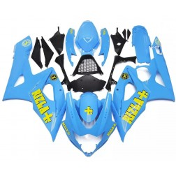 Blue Rizla+ Motorcycle Fairings For 2005-2006 Suzuki GSX-R 1000 K5