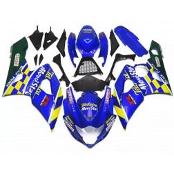 Blue & Yellow Motorcycle Fairings For 2005-2006 Suzuki GSX-R 1000 K5