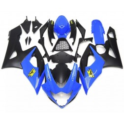 Blue & Matte Black Motorcycle Fairings For 2005-2006 Suzuki GSX-R 1000 K5