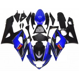 Blue & Black Motorcycle Fairings For 2005-2006 Suzuki GSX-R 1000 K5