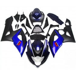Black & Blue Motorcycle Fairings For 2005-2006 Suzuki GSX-R 1000 K5