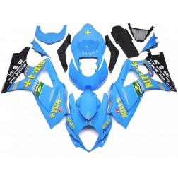Blue Rizla+ Motorcycle Fairings For 2007-2008 Suzuki GSX-R 1000 K7