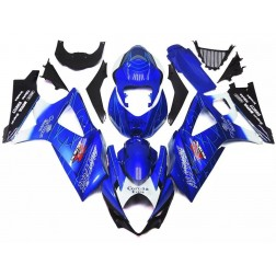 Blue Corona Motorcycle Fairings For 2007-2008 Suzuki GSX-R 1000 K7