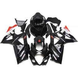 Black Motorcycle Fairings For 2007-2008 Suzuki GSX-R 1000 K7