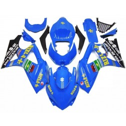 Black & Blue Rizla+ Motorcycle Fairings For 2007-2008 Suzuki GSX-R 1000 K7