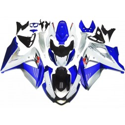 Blue, Gray & Black Motorcycle Fairings For 2009-2016 Suzuki GSX-R 1000 K9