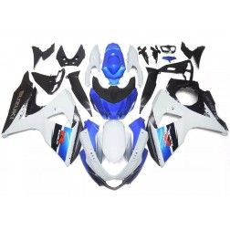 Black, White & Blue Motorcycle Fairings For 2009-2016 Suzuki GSX-R 1000 K9
