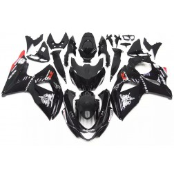 Black Motorcycle Fairings For 2009-2016 Suzuki GSX-R 1000 K9