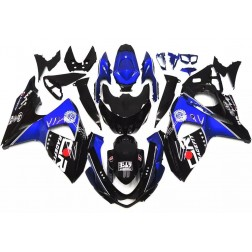 Black & Blue Motorcycle Fairings For 2009-2016 Suzuki GSX-R 1000 K9