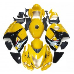 Yellow & Black Motorcycle Fairings For 2008-2014 Suzuki GSX1300R Hayabusa