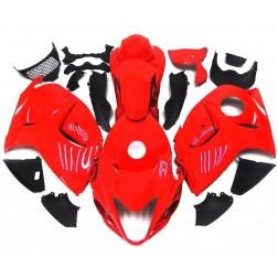 Pure Red Motorcycle Fairings For 2008-2014 Suzuki GSX1300R Hayabusa
