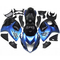 Pearl Blue & Black Motorcycle Fairings For 2008-2014 Suzuki GSX1300R Hayabusa
