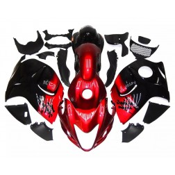 Dark Red & Black Motorcycle Fairings For 2008-2014 Suzuki GSX1300R Hayabusa