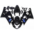 Gloss Black Motorcycle Fairings For 2004-2005 Suzu...