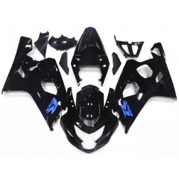 Gloss Black Motorcycle Fairings For 2004-2005 Suzuki GSX-R 600/750 K4