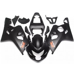 Black Motorcycle Fairings For 2004-2005 Suzuki GSX-R 600/750 K4
