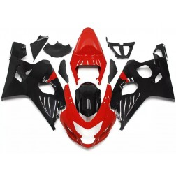 Black & Red Motorcycle Fairings For 2004-2005 Suzuki GSX-R 600/750 K4