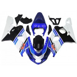 Blue, White & Black Motorcycle Fairings For 2004-2005 Suzuki GSX-R 600/750 K4