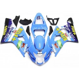 Blue Rizla+ Motorcycle Fairings For 2004-2005 Suzuki GSX-R 600/750 K4