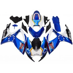 Blue, White & Black Motorcycle Fairings For 2006-2007 Suzuki GSX-R 600/750 K6