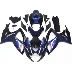 Dark Blue & Black Motorcycle Fairings For 2006-2007 Suzuki GSX-R 600/750 K6