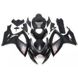 Matte Black Motorcycle Fairings For 2006-2007 Suzuki GSX-R 600/750 K6