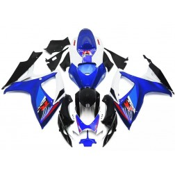 Blue & Black Motorcycle Fairings For 2006-2007 Suzuki GSX-R 600/750 K6