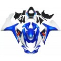 Blue & White Motorcycle Fairings For 2011-2016...