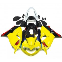 Yellow & Black Motorcycle Fairings For 1998-2002 Suzuki TL1000R