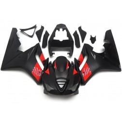 Matte Black & Red Motorcycle Fairings For 2009-2012 Triumph Daytona 675