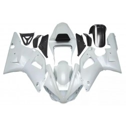 Pearl White Motorcycle Fairings For 2000-2001 Yamaha YZF-R1