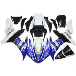 Blue, Silver & Black Motorcycle Fairings For 2002-2003 Yamaha YZF-R1