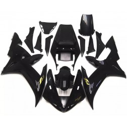 Gloss Black Motorcycle Fairings For 2002-2003 Yamaha YZF-R1