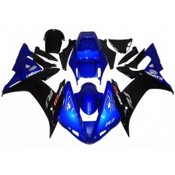 Gloss Blue & Black Motorcycle Fairings For 2002-2003 Yamaha YZF-R1
