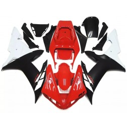 Gloss Red & Matte Black Motorcycle Fairings For 2002-2003 Yamaha YZF-R1