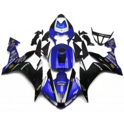 Blue & Black Motorcycle Fairings For 2004-2006 Yamaha YZF-R1