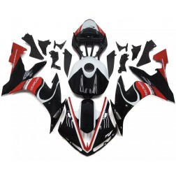 Gloss Black & Red Motorcycle Fairings For 2004-2006 Yamaha YZF-R1