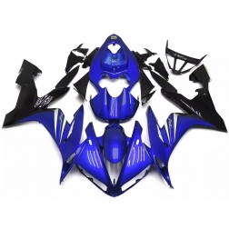 Gloss Blue & Black Motorcycle Fairings For 2004-2006 Yamaha YZF-R1