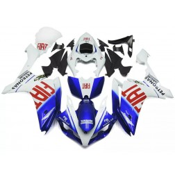 Blue & White FIAT Motorcycle Fairings For 2007-2008 Yamaha YZF-R1