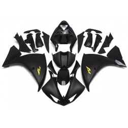 Flat Black Motorcycle Fairings For 2009-2011 Yamaha YZF-R1