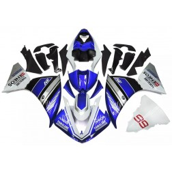 Blue & Silver Motorcycle Fairings For 2009-2011 Yamaha YZF-R1