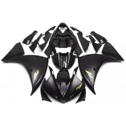 Metallic Black Motorcycle Fairings For 2009-2011 Yamaha YZF-R1