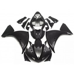 Black Motorcycle Fairings For 2009-2011 Yamaha YZF-R1
