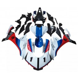White, Red & Blue Motorcycle Fairings For 2015-2017 Yamaha YZF-R1