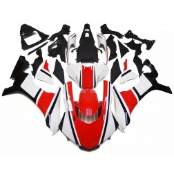Red, White & Black Motorcycle Fairings For 2015-2017 Yamaha YZF-R1