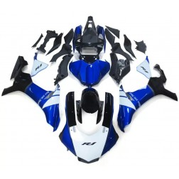 Blue, White & Black Motorcycle Fairings For 2015-2017 Yamaha YZF-R1