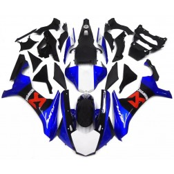 Blue & Black Motorcycle Fairings For 2015-2017 Yamaha YZF-R1