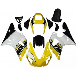 Yellow, White & Black Motorcycle Fairings For ...